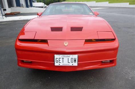 1990 pontiac trans am gta for sale 1990 pontiac trans am gta 1 of 78 low