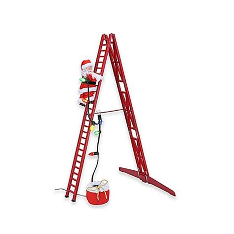 buy mr christmas stepping santa from bed bath beyond