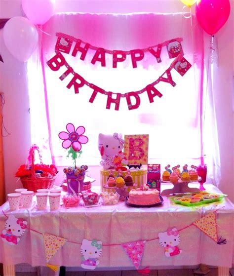 party themes hello kitty hello kitty birthday party table decoration b s 4th