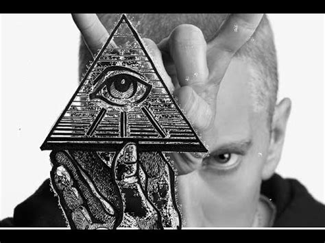 eminem against illuminati eminem rap god the up message illuminati puppet