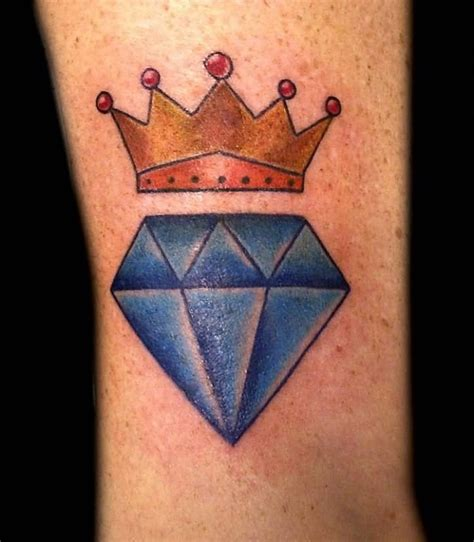 tattoo diamond crown 30 diamond and crown tattoo