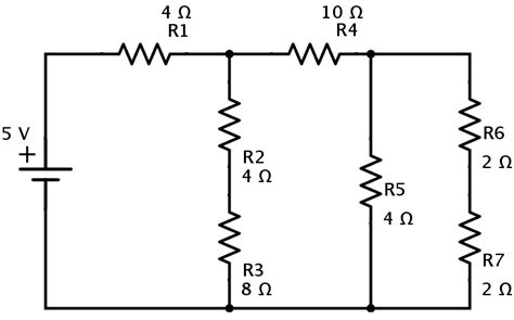 calculate resistor parallel circuit resistors in series and parallel combination of networks