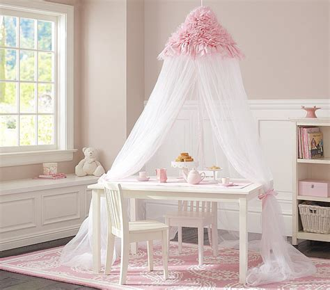 kids bedroom canopy make teatime whimsical with this ruffled pink canopy 139