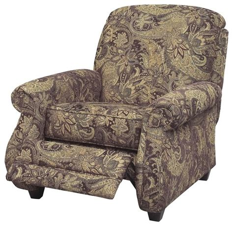 reclining accent chair jackson furniture suffolk accent reclining chair in