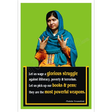 Lets Up The Look Book by Shop Posters Of Malala And Other Great Personalities