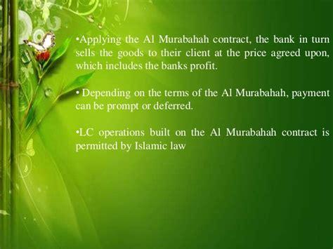 Musharakah Credit Letter islamic letter of credit