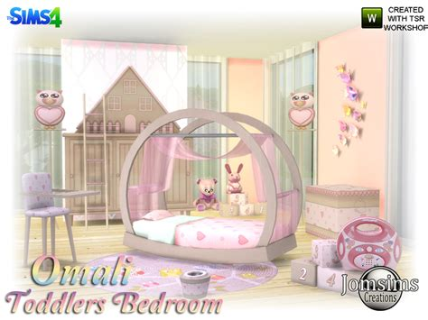 disney princess schlafzimmer jomsims omali toddlers bedroom