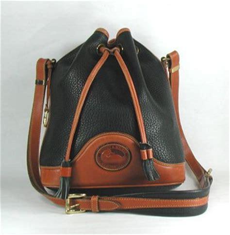Tas Dooney Bourke Retro Drawstring Black 1 authentic dooney bourke vintage drawstring bag r758 all weather leather black
