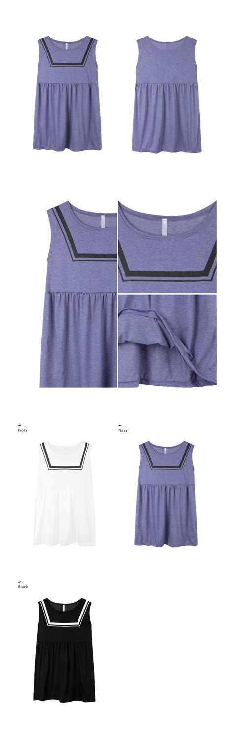 Mini Dress Irithel Square Bordir sleeveless empire cut mini dress mixxmix shop korean