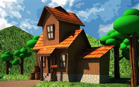 kumpulan gambar rumah kartun lucu animasi bergerak lucu