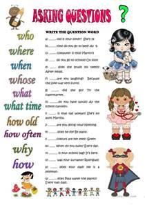 asking questions worksheet free esl printable worksheets