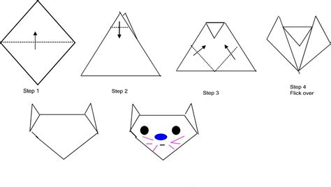 Exles Of Origami With Steps - easy origami animals inspiring bridal shower ideas