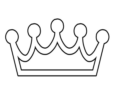 template of a crown 45 free paper crown templates template lab