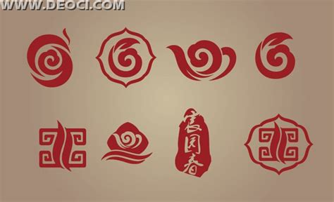 chinese design elements vector 8 chinese style tea logo eps downloads deoci com