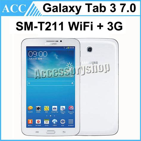 Samsung Tab 3 7 Inch T211 2017 refurbished original samsung galaxy tab 3 sm t211 7 0 inch wifi 3g 1gb ram 8gb rom 3 0mp