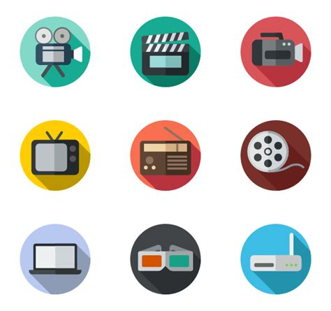 related video video player icons 3 778 free vector icons