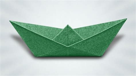 how to make a paper boat box how to make a paper boat origami instructions youtube