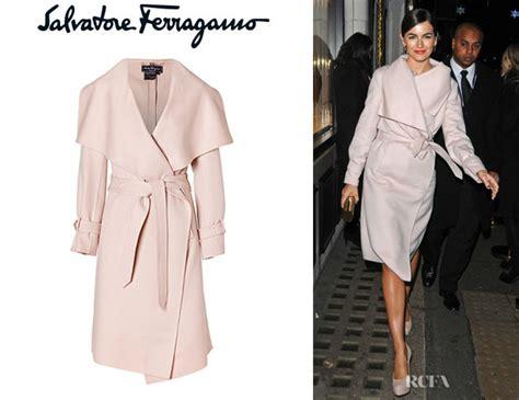 Coat Closet camilla belle s salvatore ferragamo wool and cashmere