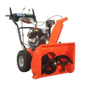 snow blowers at home depot ariens compact 24 in two stage electric start gas snow