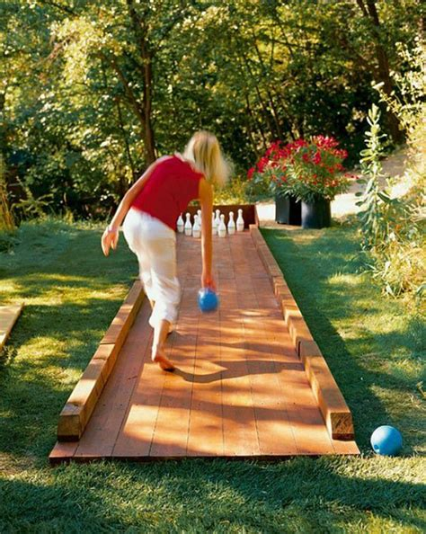 build your own backyard build your own backyard bowling alley diy ready
