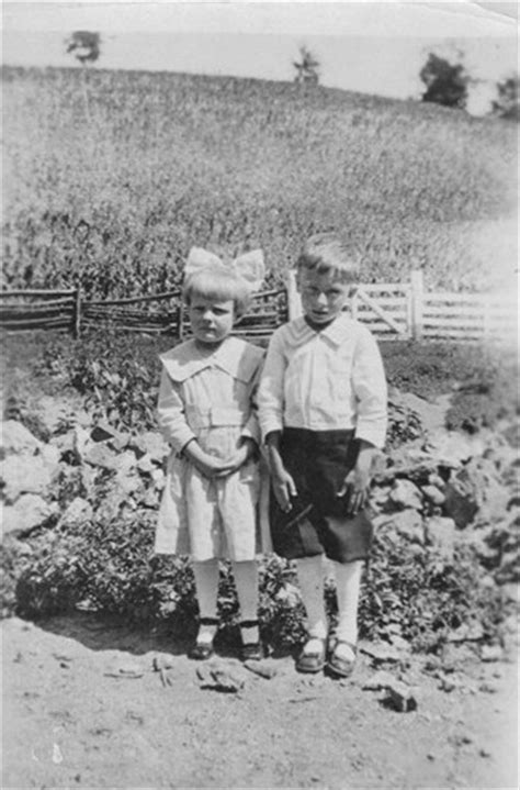 1900's boy and girl on a farm   Vintage Photography   Maze