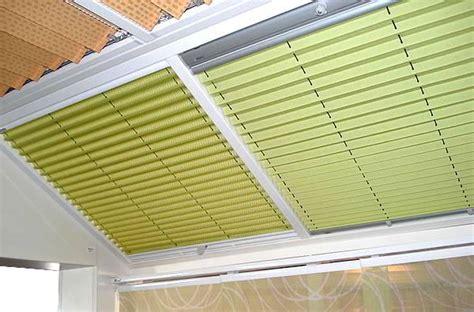 plissee wintergarten plafond plissee f 252 r wintergarten oder terassen 252 berdachung