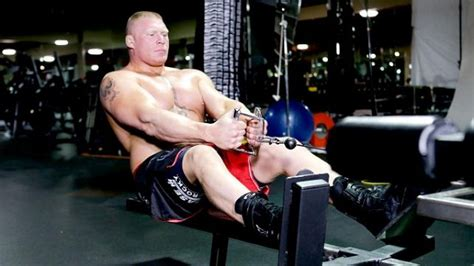 Preacher Curl On Incline Bench Brock Lesnar S Intense Workout Routine Diet Plan And