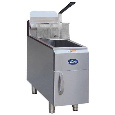 Gas Countertop Fryer by Globe Gf15g 15 Lb Gas Countertop Fryer 26 500 Btu