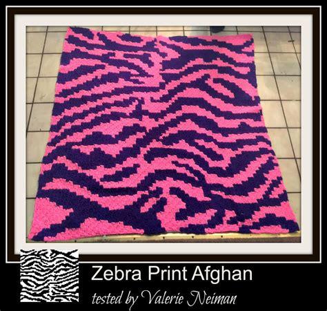 zebra pattern words zebra afghan c2c graph written word chart zebra graph