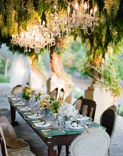 Great Gatsby Soiree Inspiration Midwest Perspective Garden Chandeliers