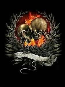 skull angel playing guitar skulls and skull art