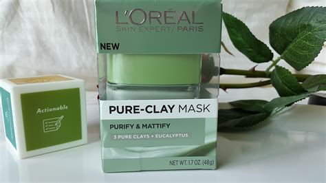 Loreal Clay Mask Purify l oreal clay mask purify and mattify glossnglitters