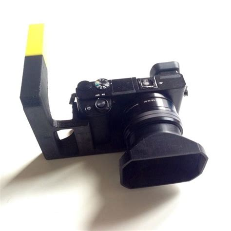 free 3d printer model best hand stand for sony a6000 ・ cults