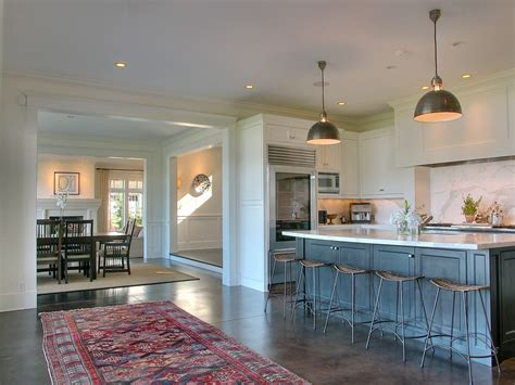 Kitchen Backsplash Cost by Stained Concrete Floors Cost Kitchen Traditional With