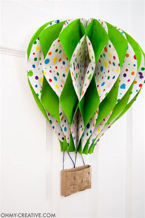 diy real hot air balloon diy hot air balloon decor oh my creative