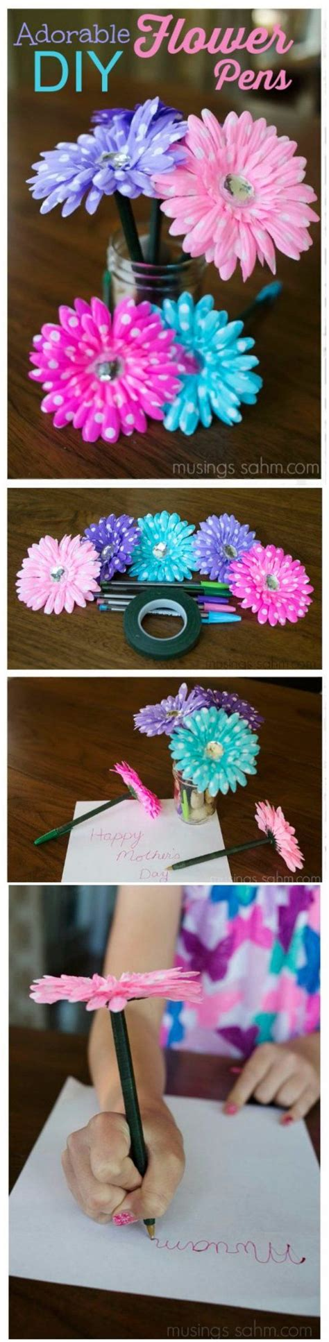 Easy Handmade Crafts To Sell - 50 easy crafts to make and sell flower pens