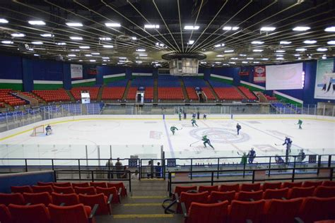 Upper Ceiling by Utica Aud Named One Of The Coolest Arenas In The World