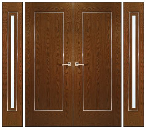 Modern Front Door Decor by Wooden Doors From Kershaws Modern Interior Doors