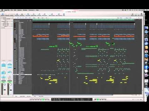 layout of a house song arrangement and song layout of an electro house song