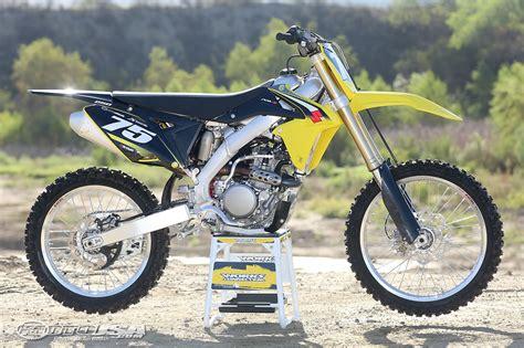 first motocross bike 2016 suzuki rm z250 first ride motorcycle usa