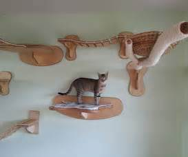 Cat Wall Furniture by Wall Mounted Cat Playground Furniture Gearnova