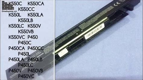 Asus Laptop Tp500l Battery pin asus p550ldv www onebyone vn laptop battery for asus a450 a550 f450 f550 k550 p550 r510
