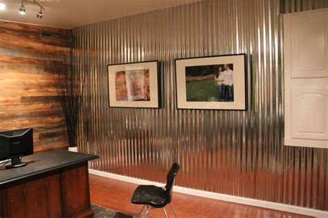 Wainscoting Kitchen Island office makeover contemporary home office seattle
