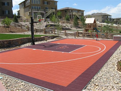 how much to build a basketball court in backyard how much does it cost to build an outdoor basketball court