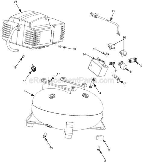 porter cable cf2600 parts list and diagram type 1 ereplacementparts