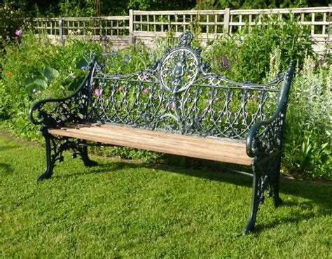 the bench company coalbrookdale bench in from the vintage garden company
