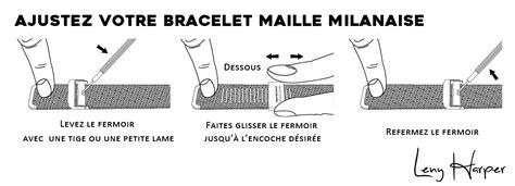 Comment régler votre bracelet maille milanaise facilement Vous cherchez à régler votre bracelet