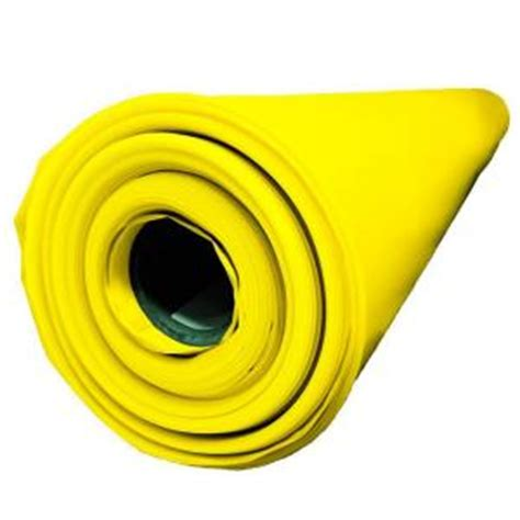 husky 14 ft x 210 ft x 10 mil yellow guard vapor barrier