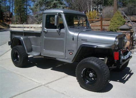 49 Willys Jeep 49 Willys 4x4 W Winch Willys