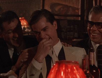 Lol Meme Gif - ray liotta laughing gif find share on giphy